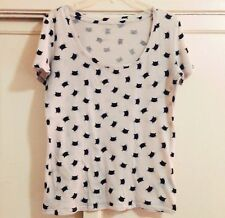 BDG Urban Outfitters UO Cat Lady Cat Patterned Shirt Tee Small T-shirt