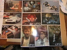 GERRY ANDERSON UFO ITC 10 DVD POSTCARDs ED BISHOP SHADO
