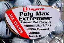 Poly Max Extremes  Golf Extra Driver Distance Package of 18