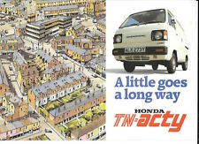 HONDA TN - ACTY VAN  AND PICK UP SALES BROCHURE @ 1983