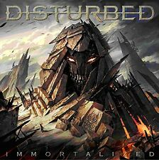 DISTURBED IMMORTALIZED CD incl: THE SOUND OF SILENCE (**Free UK P&P**)