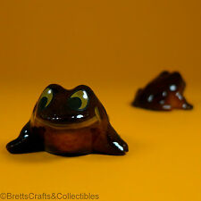 Wade Whimsies (1984/87) Happy Families Frog Series - Baby Smiling (Ver B) Frog