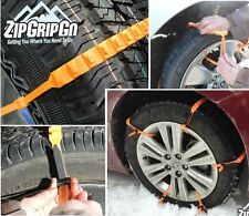 ZipGripGo Emergency Tire Traction Snow Chain Alternative - Get Vehicle Unstuck