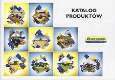 New Holland Gamme 03 / 2015 catalogue brochure tracteur moissonneuse tractor