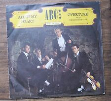 "VG+ ABC - All of my heart / Overture - VG+ Neutron Records 7"" Single"