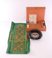 1941 E.S. LOWES BAKELITE ROULETTE CASINO GAME WHEEL BET GAMBLE PARTY NIGHT