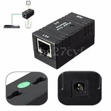 Passive Power Over Ethernet Cable POE Injector Splitter Adapterfor AP  IP Camera