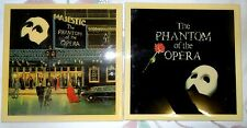 TWO Different Vintage Phantom of the Opera LARGE Tiles 1986 NYC Broadway Theater