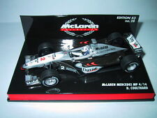 Minichamps F1 1/43 McLAREN MERCEDES MP4/15 DAVID COULTHARD