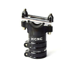 KCNC AL7075 Bike Bicycle Majestic ISP Clamp 34.9mm / L:50mm / Offset:0 - Black