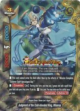 Buddyfight 1x D-BT04/0019EN - RR - Judgment of the Cold-blooded King, Miserea