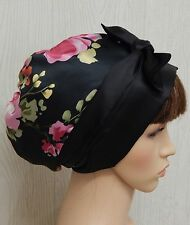 Satin head scarf, silky head wrap, satin sleeping cap, summer hair scarf bonnet