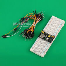 Breadboard 3.3V/5V+ 65PCS 830 Point+ New Jumper Cable MB102 Power Supply Module