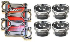 MANLEY SUBARU STI TURBO TUFF I-BEAM CONNECTING RODS AND 99.5MM PISTONS FOR EJ257