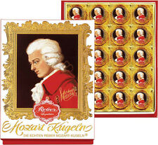 Reber Mozart Chocolate - Kugeln Marzipan - 20 Piece Portrait -400 gram gift box