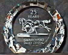 SWAROVSKI WILD HORSES DISC PAPERWEIGHT 60MM 283324 MINT BOXED RETIRED RARE