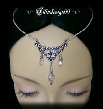 ~v~Stirnschmuck°Crystal°LARP°circlet°Tiara°Headdress~v~