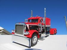 DCP 1/64 SCALE 379 PETERBILT 60'' BUNK RED,BLACK&WHITE (TRACTOR ONLY)