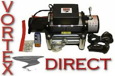 NEW VORTEX 8000 LB Pound Recovery Winch Bonus Package! 2 remotes
