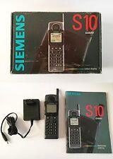 SIEMENS S10 - Vintage Gsm - Sim Free - EU SPEC  - Rare -