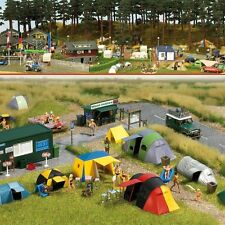 HO Busch Campground Scene with Tents KIT # 6044