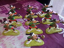 10 Figuras de GOOFY BOXEADOR,Comics Spain,Walt Disney,LOT BOXER FIGURINES boxing
