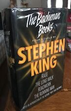 The Bachman Books Stephen King RARE 1st PRINT UK Hardcover ONLY WAY READ RAGE!