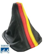 VW Golf Jetta Italian Leather SHIFT BOOT Gaiter German Flag GTi GLi MK3 Vento
