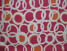 "HARLEQUIN SCION CURTAIN FABRIC DESIGN ""Zsa Zsa"" 5.3 METRES CHILLI/LINEN/PEONY"