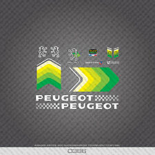 0386 Peugeot Vitesses 12 Speeds Bicycle Frame Stickers - Decals - Transfers