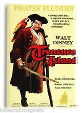 Treasure Island FRIDGE MAGNET (2 x 3 inches) movie poster robert louis stevenson