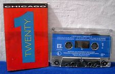 Chicago Twenty One 12 track 1991 CASSETTE TAPE chicago 21 chicago Twenty 1