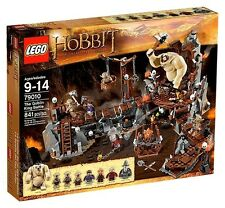 Lego The Hobbit 79010 THE GOBLIN KING BATTLE Gandalf Soldier Dwarf LOTR NISB