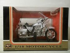 NEW MOTORMAX COLLECTORS EDITION MOTORCYCLE 1/18 SCALE KAWASAKI KZ 1000 POLICE