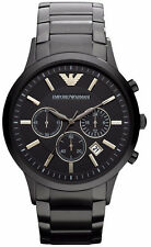 Emporio Armani Classic Watch Black Quartz Analog Men's Watch AR2453