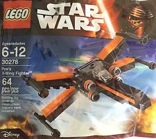 Lego Star Wars Poe's X-wing Fighter 30278 Polybag Sealed