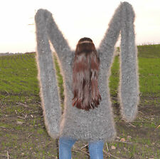Sweater SUPER LONG SLEEVE Longhair 100% Goat Down Mohair  UNISEX FETISH