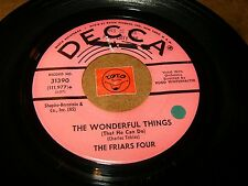 THE BRIARS FOUR - THE WONDERFUL THINGS - TWENTY   / LISTEN - VOCAL GROUP POPCORN