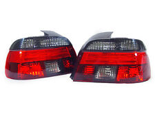 DEPO 97-00 BMW E39 5-Series 4D Sedan Euro Crystal Red/Smoke Tail Light Rear Lamp