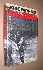 SALERNO. A MILITARY FIASCO. ERIC MORRIS. 1983. 1st EDITION. HB in DW. WW2.