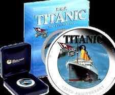 2012 $1 100th Anniversary of RMS Titanic 1oz Silver Proof Coin