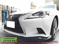14 15 16 LEXUS IS250 IS350  w/ F-Sport Package Carbon Fiber VIP Look Front Lip