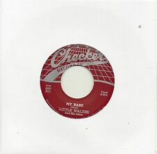 LITTLE WALTER    MY BABE / ROLLER COASTER   CHECKER Re-Iss/Re-Pro  R&B/MOD/SOUL