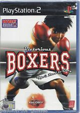 VICTORIOUS BOXERS for Playstation 2 PS2 - NEW in seal - Spanish Español
