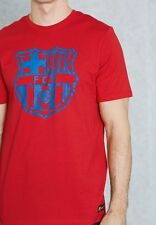 Nike FC Barcelona Crest tee in 100% cotton - adult large