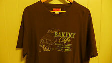 Guess Dark Brown Graphic T-Shirt Sz.XXL