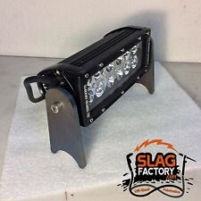 Led Light Bar Mount Tabs Weld On Fabricator Bracket Laser Cut Exo Bumper Short