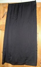 BNWT MAYSAA Ladies Black Satin Longer Length Slip / Underskirt Size Small