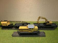"""Märklin 29181 Zugset """"Baustelle"""" mit DHG700 Diesellok, Bagger und Kranwagen!"""