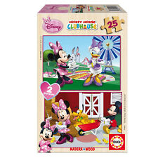 PUZZLE 2 X 25 PIEZAS MINNIE DISNEY EDUCA 15279